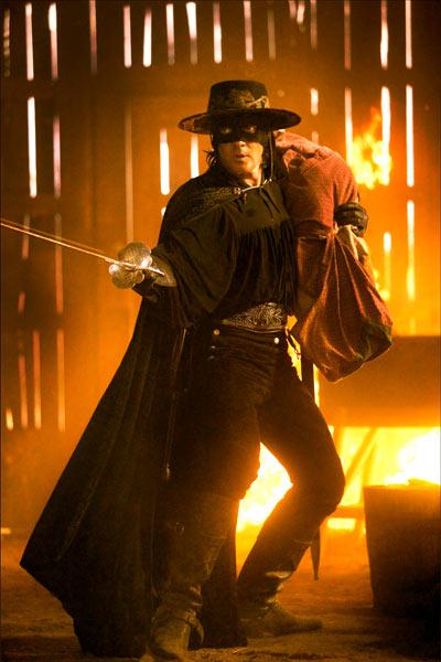 La Légende de Zorro : Photo Antonio Banderas