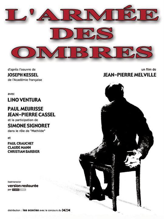 L'Armée des Ombres : Affiche Jean-Pierre Melville