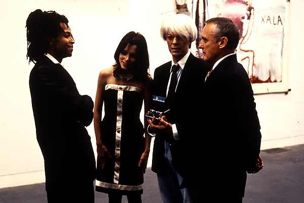 Basquiat : Photo Claire Forlani, David Bowie, Dennis Hopper, Jeffrey Wright, Parker Posey