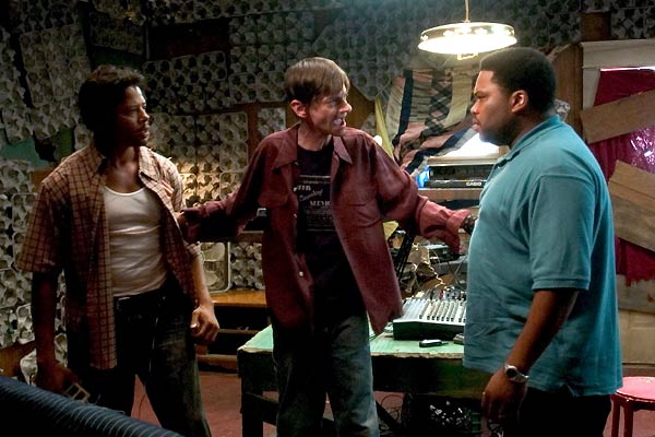 Hustle & Flow : Photo Anthony Anderson, DJ Qualls, Terrence Howard