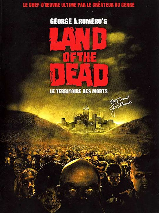 Land of the dead (le territoire des morts) : Affiche George A. Romero