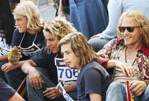 Les Seigneurs de Dogtown : Photo Catherine Hardwicke, Emile Hirsch, Heath Ledger, Michael Angarano, Victor Rasuk