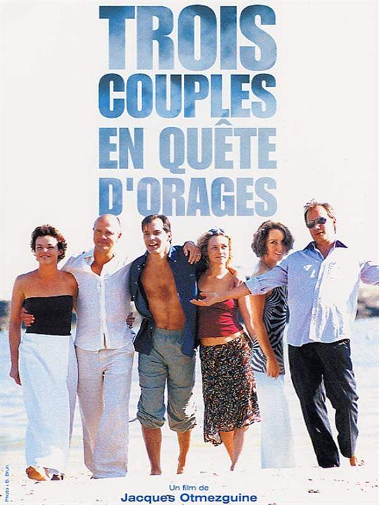 Photo de claire nebout trois couples en qu te d 39 orage affiche aur lien recoing claire - Aurelien cotentin en couple ...