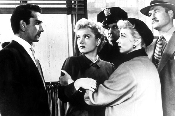La Femme au Gardénia : Photo Ann Sothern, Anne Baxter, George Reeves, Richard Conte