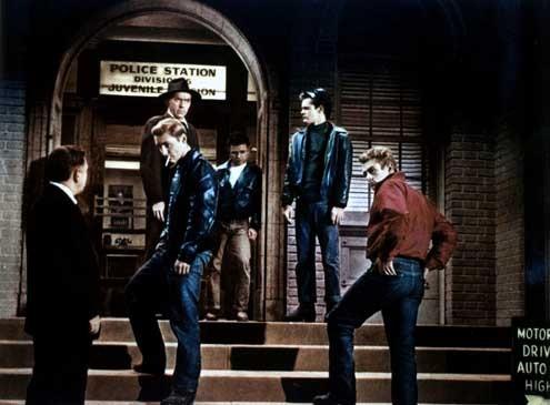 La Fureur de vivre : Photo Dennis Hopper, James Dean, Nicholas Ray