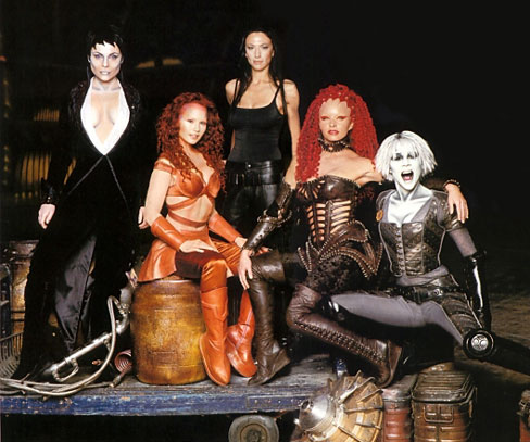 Farscape : Photo Claudia Black, Gigi Edgley, Raelee Hill, Rebecca Riggs, Tammy MacIntosh