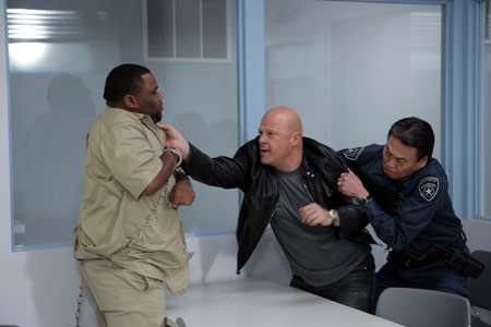 The Shield : Photo Anthony Anderson, Michael Chiklis