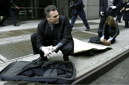 New York Section Criminelle : Photo Kathryn Erbe, Vincent D'Onofrio