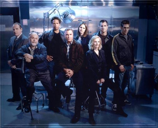 Les Experts : Photo Eric Szmanda, Gary Dourdan, George Eads, Jorja Fox, Marg Helgenberger