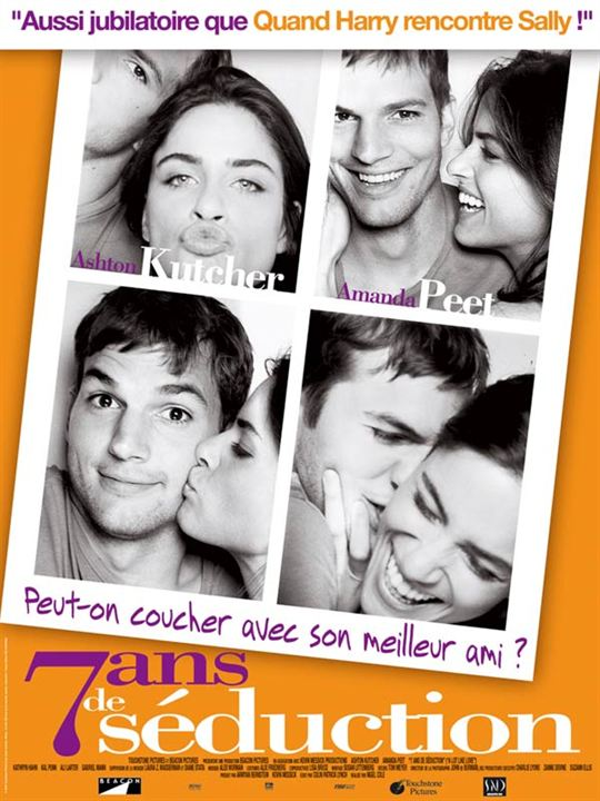 7 ans de séduction : Affiche Ashton Kutcher, Nigel Cole