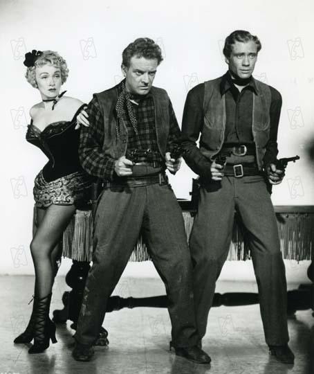 L'Ange des maudits : Photo Arthur Kennedy, Marlene Dietrich, Mel Ferrer