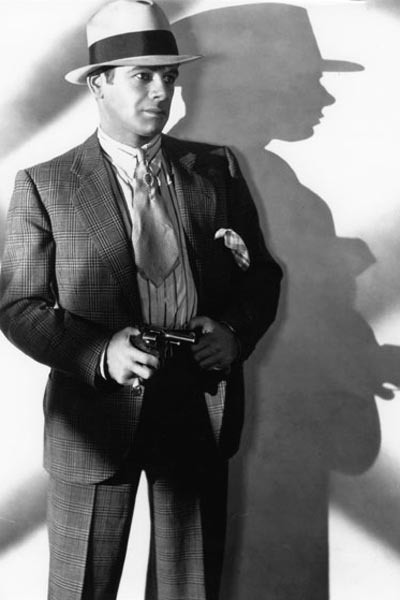 Scarface : Photo Howard Hawks, Paul Muni