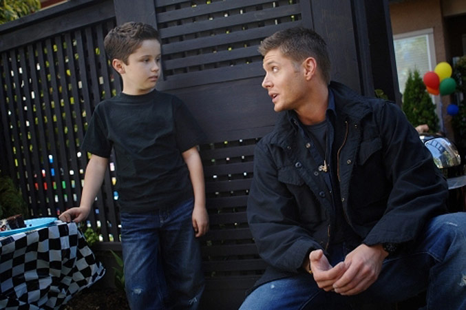Supernatural : Photo Jensen Ackles, Nicholas Elia