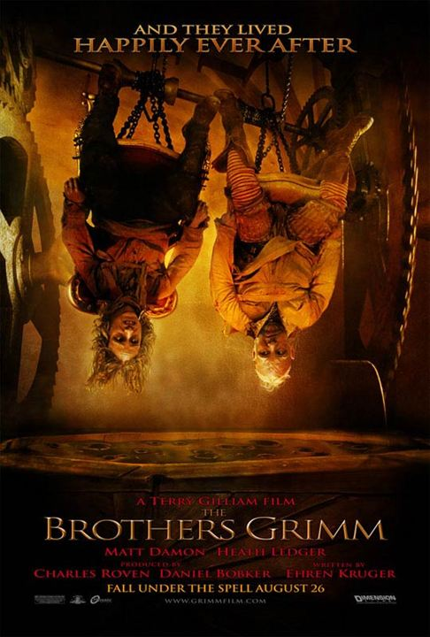 Les Frères Grimm : Affiche