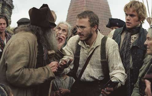 Les Frères Grimm : Photo Heath Ledger, Matt Damon