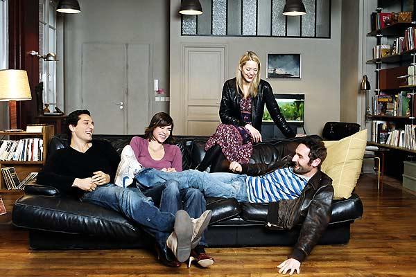 Ma vie en l'air : Photo Elsa Kikoïne, Gilles Lellouche, Marion Cotillard, Vincent Elbaz