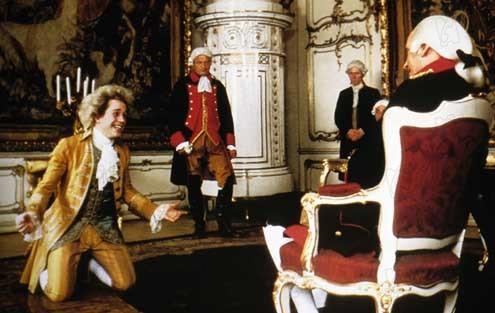 Amadeus : Photo Jeffrey Jones, Milos Forman, Tom Hulce