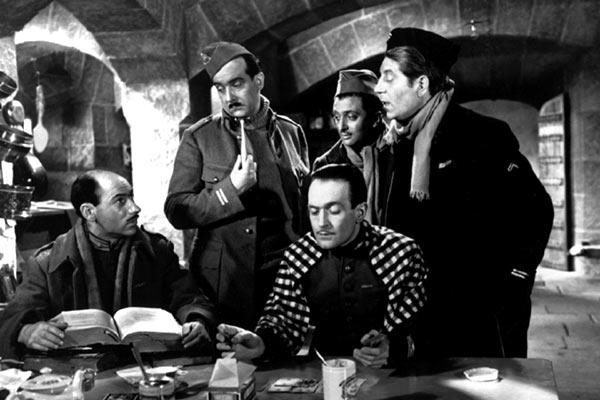 La grande illusion : Photo Jean Dasté, Jean Gabin, Marcel Dalio, Pierre Fresnay