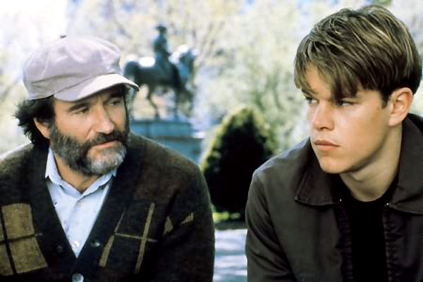 Will Hunting : Photo Gus Van Sant, Matt Damon, Robin Williams