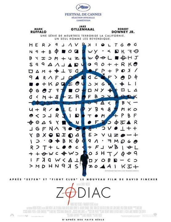 Zodiac : Affiche