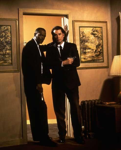 Pulp Fiction : Photo John Travolta, Samuel L. Jackson