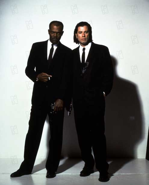 Pulp Fiction : Photo John Travolta, Samuel L. Jackson