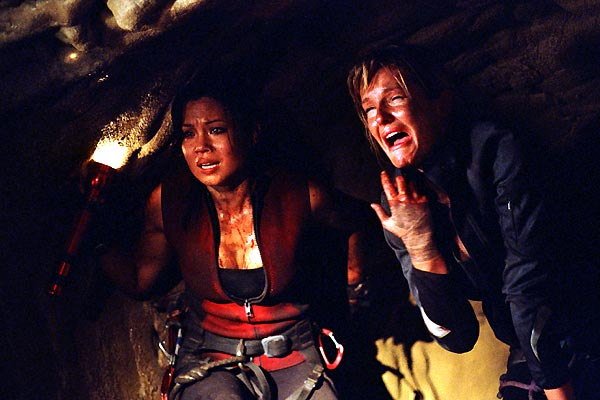 The Descent : Photo Natalie Jackson Mendoza, Neil Marshall, Saskia Mulder
