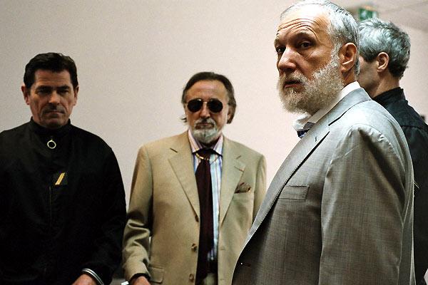 L'Ivresse du pouvoir : Photo Claude Chabrol, François Berléand, Jean-François Balmer