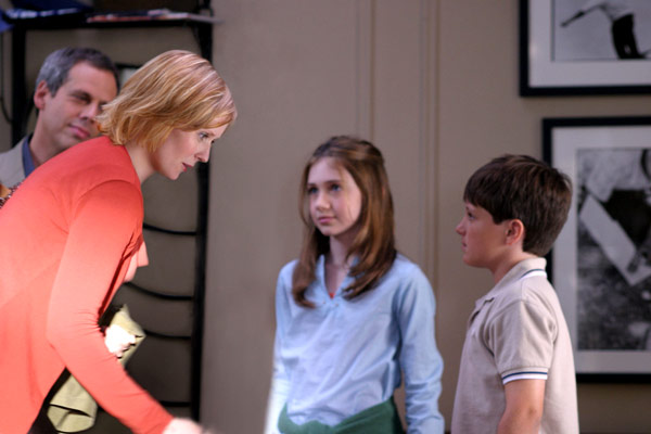 Little Manhattan : Photo Charlie Ray, Cynthia Nixon, Josh Hutcherson, Mark Levin