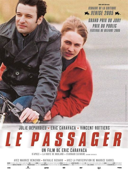 Le passager : affiche Eric Caravaca, Vincent Rottiers