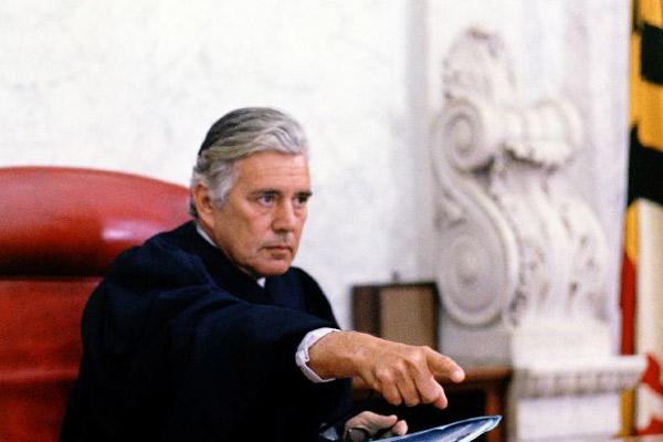 Justice pour tous : Photo John Forsythe, Norman Jewison