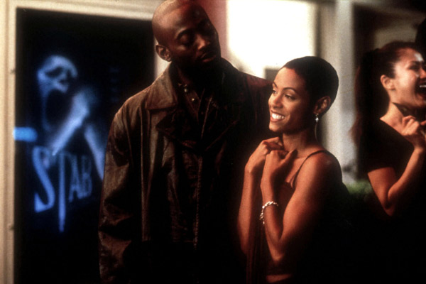 Scream 2 : Photo Jada Pinkett Smith, Omar Epps, Wes Craven