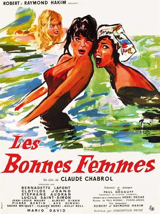 Les Bonnes femmes : Affiche Claude Chabrol