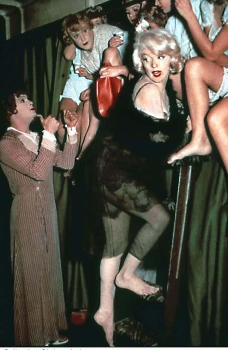 Certains l'aiment chaud : Photo Jack Lemmon, Marilyn Monroe, Tony Curtis