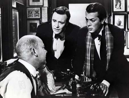 Certains l'aiment chaud : Photo Billy Wilder, Jack Lemmon, Tony Curtis