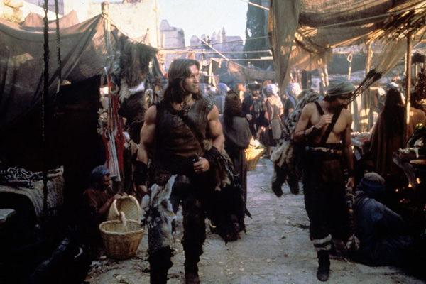Conan le barbare : Photo Arnold Schwarzenegger, John Milius, Robert E. Howard