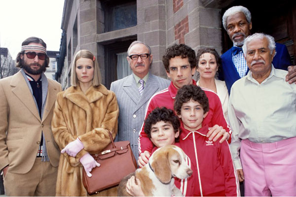 La Famille Tenenbaum : Photo Anjelica Huston, Ben Stiller, Danny Glover, Gene Hackman, Gwyneth Paltrow