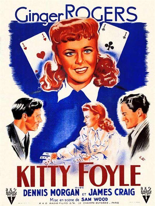 Kitty Foyle : Affiche Ginger Rogers, Sam Wood