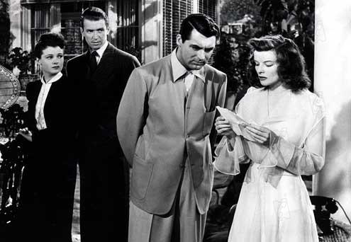 Indiscrétions : Photo Cary Grant, James Stewart, Katharine Hepburn