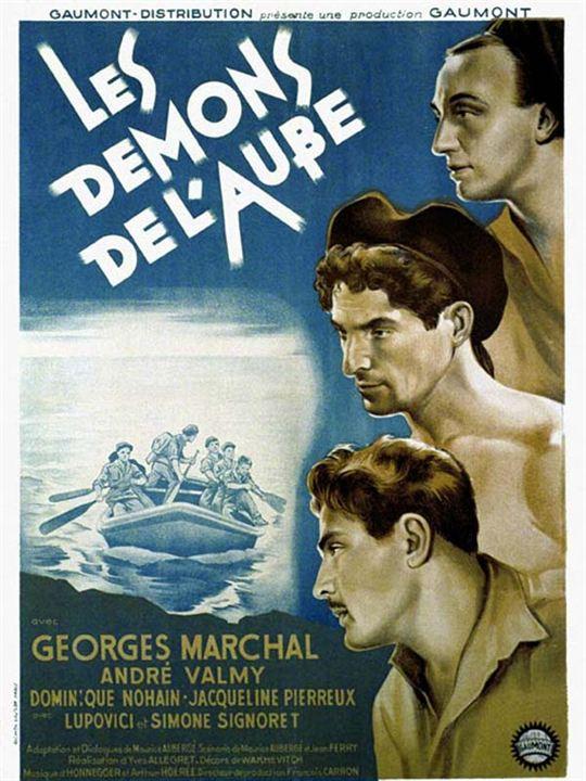 Les Démons de l'aube : Affiche Yves Allégret