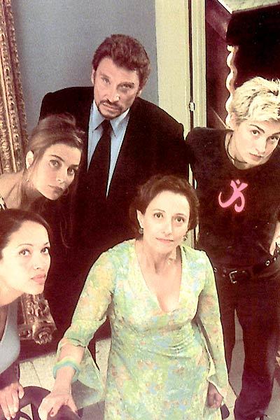 Pourquoi pas moi? : Photo Brigitte Roüan, Carmen Chaplin, Elli Medeiros, Johnny Hallyday, Julie Gayet