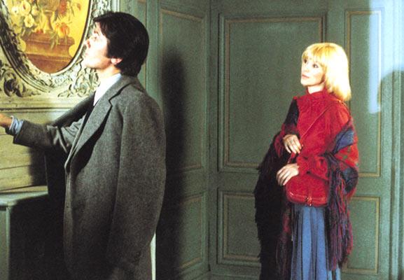 L'Homme pressé : Photo Alain Delon, Edouard Molinaro, Mireille Darc