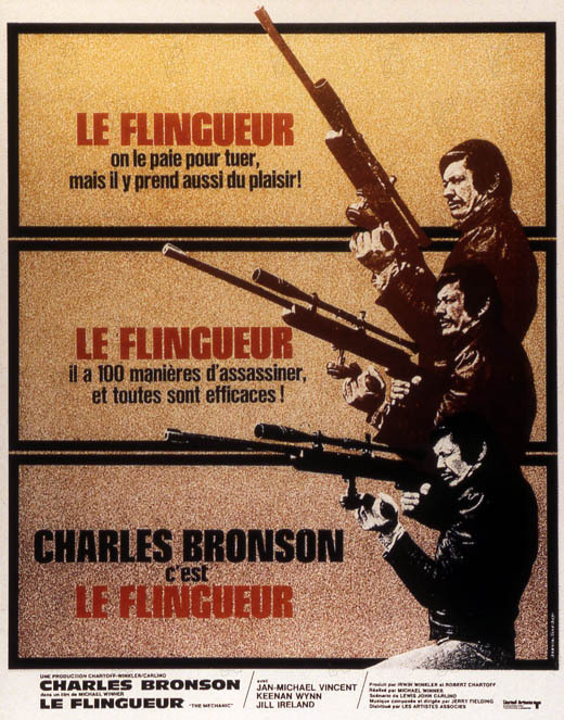Le Flingueur : affiche Michael Winner