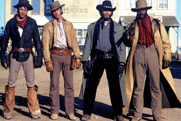 Silverado : Photo Danny Glover, Kevin Kline, Lawrence Kasdan, Scott Glenn
