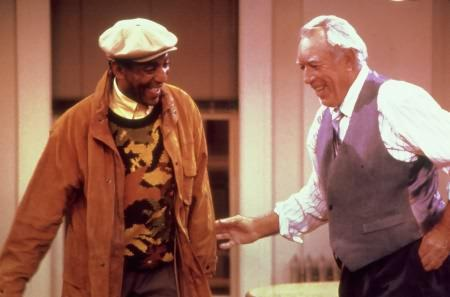 Cosby Show : Photo Anthony Quinn, Bill Cosby
