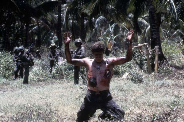 Platoon : Photo Oliver Stone, Willem Dafoe