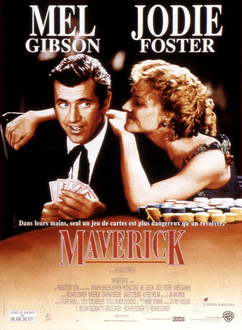 Maverick : affiche Richard Donner