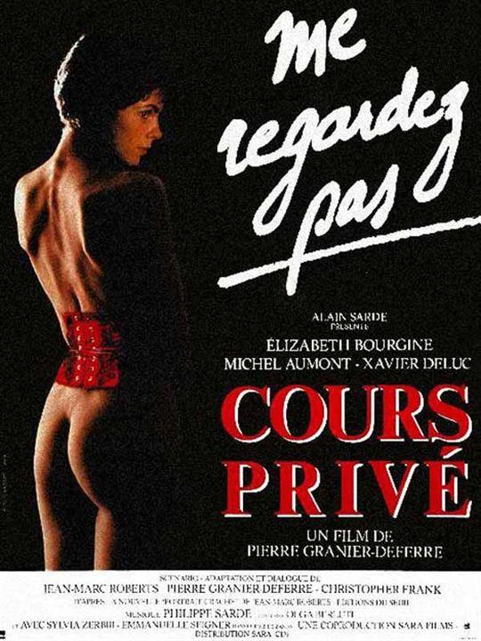 Cours privé : affiche