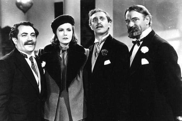 Ninotchka : Photo Alexander Granach, Felix Bressart, Greta Garbo