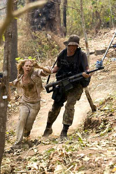 John Rambo : Photo Julie Benz, Sylvester Stallone